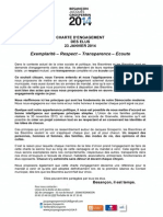 Charte de l'Union 23 Janvier 2014