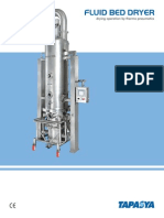 Fluid Bed Dryer - FBD