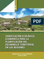 ZEE Para La Planificacion Del Desarrollo Territorial en Las Regiones