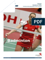 Badminton Design Guide - 2011
