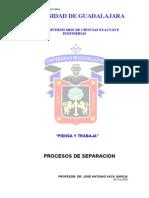 Procesos de Separacion - Apuntes