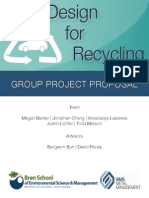 Design for Recycling Project Proposal