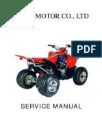 Aeon COBRA 220 Repair Manual