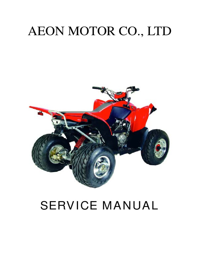 Aeon Mini Kolt 50cc Wiring Diagram