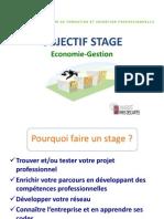 Objectif Stage ECO-Gestion