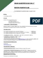 Reglamento 24 Horas Kartpetanas 2014 Actualizado