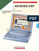 Manual Satellite 4010 CDS
