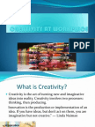 Creativity at Workplace22
