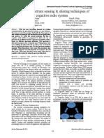 IJFTET - Vol. 4-Issue 1_review on Spectrum Sensing