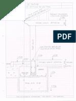 Sección constructiva Edificio de Control