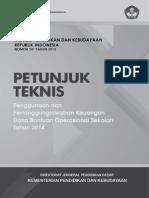 Permendikbud No. 101 Tahun 2013 Juknis BOS 2014(2)