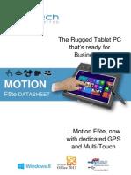 Motion f5te Datasheet