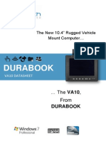 VA10 DURABOOK DATASHEET