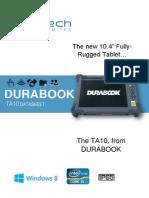 TA10 DURABOOK DATASHEET