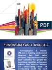 Punong bayan and araullo firm Presentation