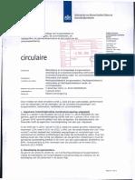 20131205 ministerie binnelandse zaken - circulaire inzake bozoldigingen