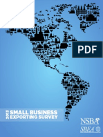 SME's Exporting Survey Report 2013