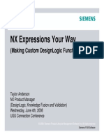 Anderson - Design - Custom DesignLogic Functions