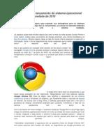 Google anuncia lançamento de sistema operacional para a segunda metade de 2010