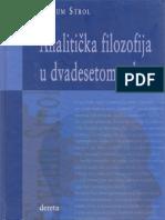 Strol-Analitička-filozofija-u-dvadesetom-veku