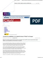 """Ascensão da mobilidade e do Android colocam """"Wintel"""" sob ataque - PC WORLD"""
