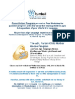 The ASL Parent-Child Mother Goose Program