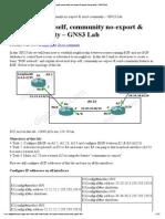 ROUTE 642-902 Training » BGP next-hop-self, community no-export