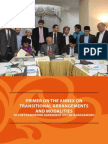 Primer on the Annex on Transitional Arrangements and Modalities