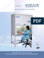 213-BioAir Mikrobiologische Sicherheitswerkbank Safeflow