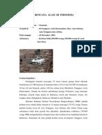 7 Bencana Alam Di Indonesia