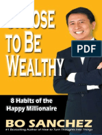Choose to Be Wealthy - 8 Habits of Happy Millionaire