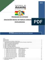 Programas de Estudio