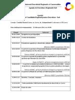 Agenda Sedintei CRD Sud Din 11.02.2013
