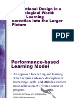 Performance-Based Learning Model