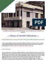 History of Mawlid un-Nabi (SallAllahu Alayhi Wa Sallam) Celebrations