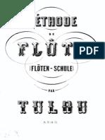 Tulou Méthode de Flûte Traversère