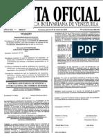 Gaceta Oficial 6.122 Republica Bolivariana de Venezuela
