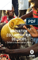 Humanitarian Brochure: A summary of Oxfam's expertise in emergencies