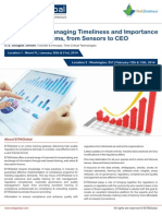 Analyzing Managing Timeliness