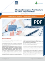 Effective Enterprise Architecture Program Switzerland