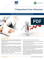 Running Your IT Department Like a Business