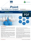 SharePoint Not Really an IT Project
