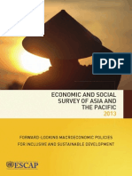 Economic and Social Survey of Asia and the Pacific (ESAP)