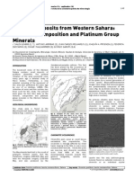 Chromite Deposits From Western Sahara