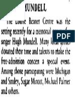 Hugh Mundell - (1984-12-04) - The Gleaner