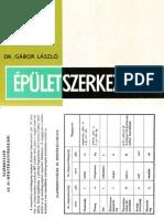 Épületszerkezettan III. - DR. Gábor László