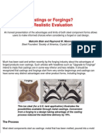 csstings or Forgings