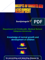 Introduction General Concepts of Growth and Development