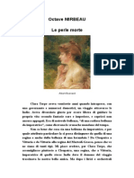 Octave Mirbeau, « Le perle morte »