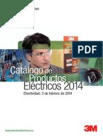 201401 3M CATÁLOGO DE PRODUCTOS ELÉCTRICOS